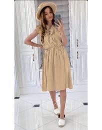 Φόρεμα - κώδ. 701 - μπεζ