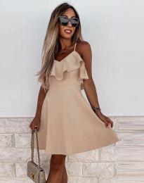 Φόρεμα - κώδ. 2739 - μπεζ