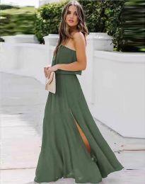 Φόρεμα - κώδ. 8871 - λαδί