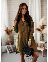 Φόρεμα - κώδ. 6113 Καφέ