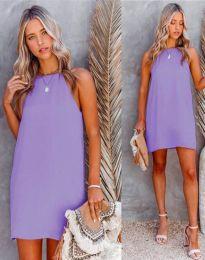 Φόρεμα - κώδ. 2169 - μωβ