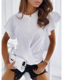 Κοντομάνικο μπλουζάκι - κώδ. 515 - λευκό