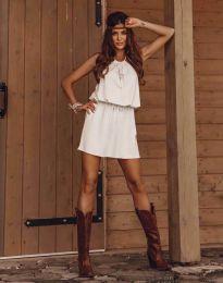 Φόρεμα - κώδ. 8399 - λευκό
