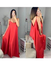 Φόρεμα - κώδ. 6600 - κόκκινο