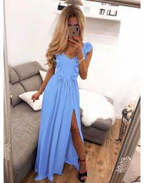 Φόρεμα - κώδ. 673 - γαλάζιο