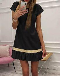 Φόρεμα - κώδ. 2532 - 1 - μαύρο