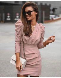 Φόρεμα - κώδ. 870 - πούδρα
