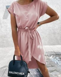 Φόρεμα - κώδ. 2074 - πούδρα