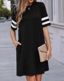 Φόρεμα - κώδ. 3442 - 1 - μαύρο