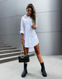 Φόρεμα - κώδ. 7589 - λευκό