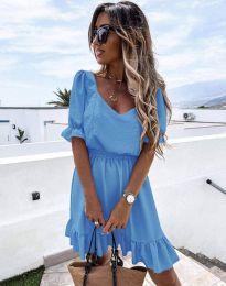Φόρεμα - κώδ. 6460 - γαλάζιο