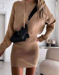 Φόρεμα - κώδ. 0235 - μπεζ