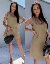 Φόρεμα - κώδ. 2504 - καπουτσίνο
