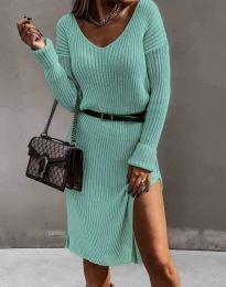 Φόρεμα - κώδ. 6829 - μέντα