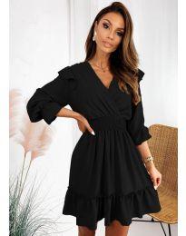 Φόρεμα - κώδ. 8554 - μαύρο