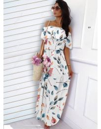 Φόρεμα - κώδ. 354 - λευκό