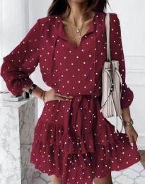 Φόρεμα - κώδ. 7113 - κόκκινο