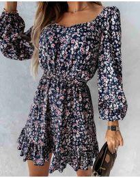 Φόρεμα - κώδ. 2940 - πολύχρωμο