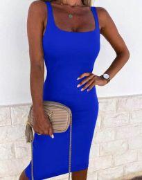 Φόρεμα - κώδ. 8899 - μπλε