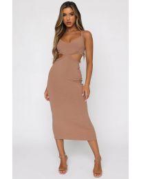 Φόρεμα - κώδ. 111938 - μπεζ