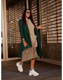 Παλτό - κώδ. 7555 - πράσινο
