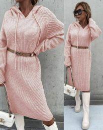 Φόρεμα - κώδ. 6449 - ροζ