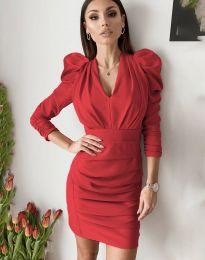 Φόρεμα - κώδ. 7937 - κόκκινο