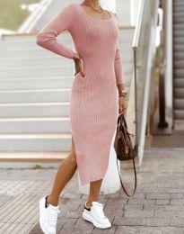Φόρεμα - κώδ. 2326 - πούδρα