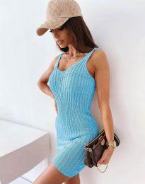 Φόρεμα - κώδ. 10088 - γαλάζιο