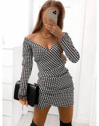 Φόρεμα - κώδ. 1627  - 1 - πολύχρωμο