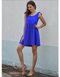 Φόρεμα - κώδ. 2255 - μπλε