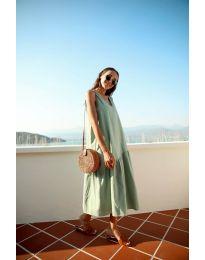 Φόρεμα - κώδ. 8810 - πράσινο