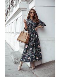 Φόρεμα - κώδ. 7494 - 2 - πολύχρωμο