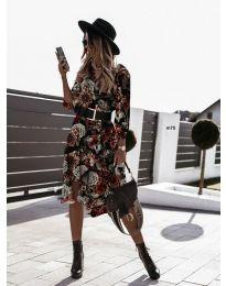 Φόρεμα - κώδ. 8366 - 3 - πολύχρωμο
