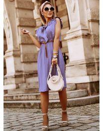 Φόρεμα - κώδ. 7045 - μωβ