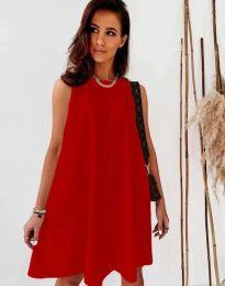 Φόρεμα - κώδ. 9862 - κόκκινο