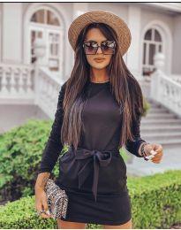 Φόρεμα - κώδ. 2529 - μαύρο
