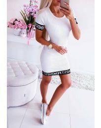 Φόρεμα - κώδ. 3213 - λευκό