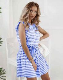 Φόρεμα - κώδ. 7211 - μπλε