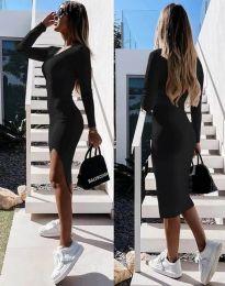 Φόρεμα - κώδ. 8291 - μαύρο