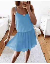 Φόρεμα - κώδ. 8596 - γαλάζιο