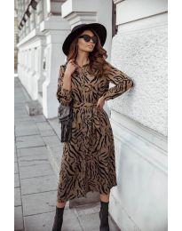 Φόρεμα - κώδ. 7494 - 6 - πολύχρωμο