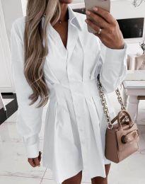 Φόρεμα - κώδ. 8141 - λευκό