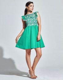 Φόρεμα - κώδ. 1482 - 2 - πράσινο