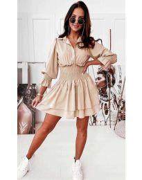Φόρεμα - κώδ. 1843 - μπεζ