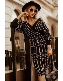 Φόρεμα - κώδ. 4441 - 2 - μαύρο