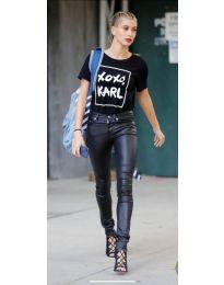 Κοντομάνικο μπλουζάκι - κώδ. 957 - μαύρο