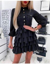 Φόρεμα - κώδ. 7356 - μαύρο