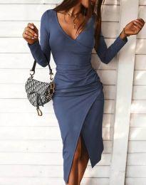 Φόρεμα - κώδ. 4769 - μπλε