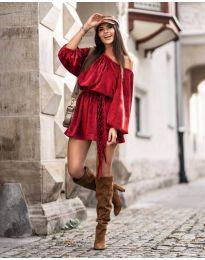 Φόρεμα - κώδ. 324 - κόκκινο